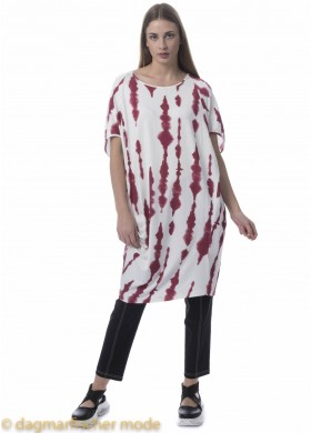 Tunic Print by ELSEWHERE in coral