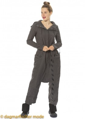 Overall by RUNDHOLZ DIP in cedar print