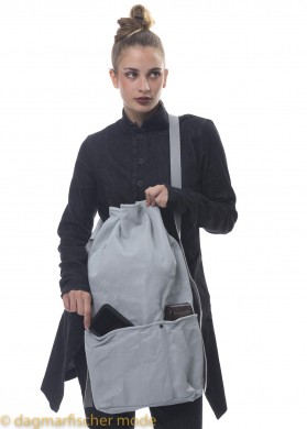 Beuteltasche von PAL OFFNER in light grey