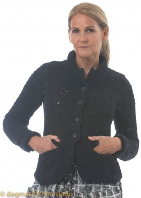 Strickjacke von RUNDHOLZ in black