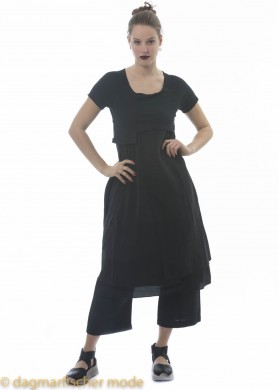 T-Shirt-Kleid von PAL OFFNER in black