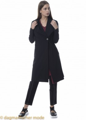 Langer Blazer Tech von ELSEWHERE in black