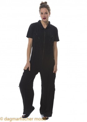 Overall The Other Side von BLACK BY K&M in Plain Black