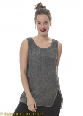 Top Go Touch The Sky von BLACK BY K&M in Cold Dye Grey
