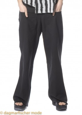 Hose Talk Is Cheap von BLACK BY K&M in Plain Black