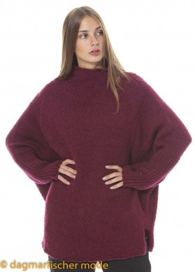 Oversize Pullover PAPEL von nook... in black, royal & mulberry