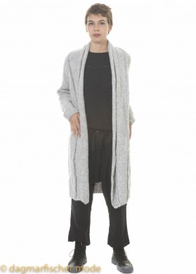Strickjacke Nabby von studib3 in light grey melange